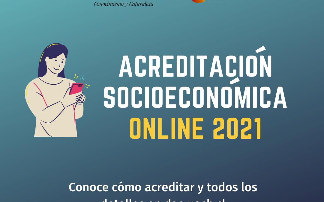 Inicia Acreditación Socioeconómica online para optar a beneficios estudiantiles 2021