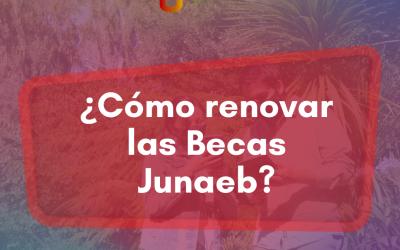 ¿Cómo renovar las becas de mantención Junaeb este 2º semestre?